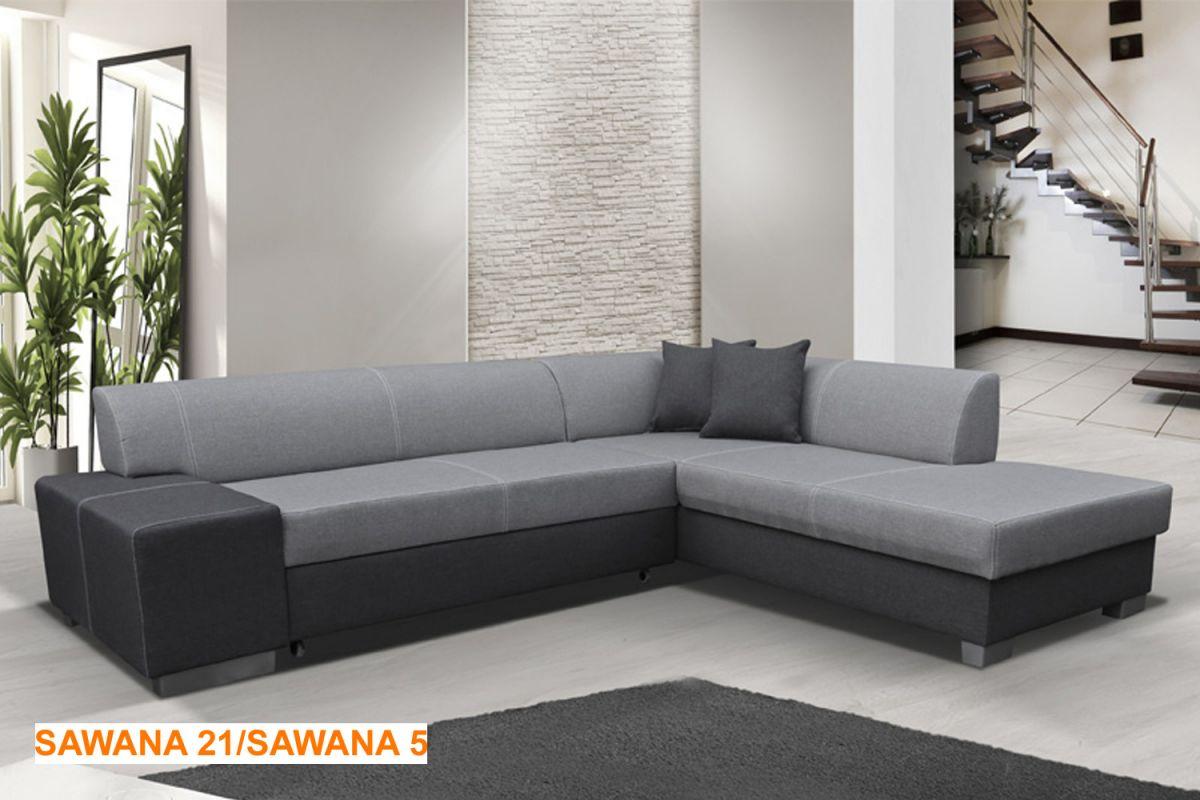 EL-TAP rohová sedací souprava PORTO materiál SAWANA 21/SAWANA 5