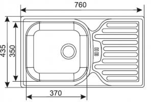Dřez ES 760