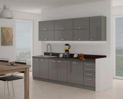 kuchyňská linka GREY-Délka 260cm