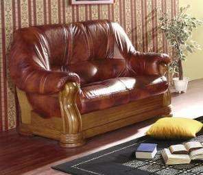 Luxusní sedací souprava ELEGANT - Dvoj-sedák CHOJMEX
