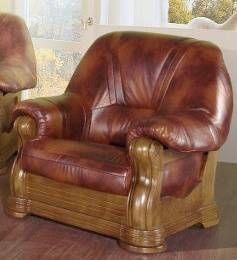 Kožená sedací souprava ELEGANT - Křeslo CHOJMEX