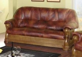 Kožená sedací souprava ELEGANT - Troj-sedák
