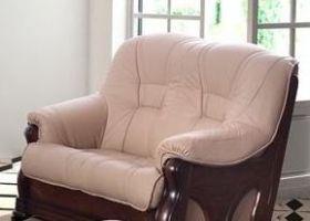Kožená sedací souprava ITALIANO - Dvoj-sedák