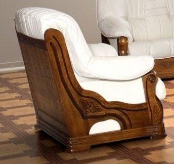 Kožená sedací souprava LORD - Křeslo CHOJMEX