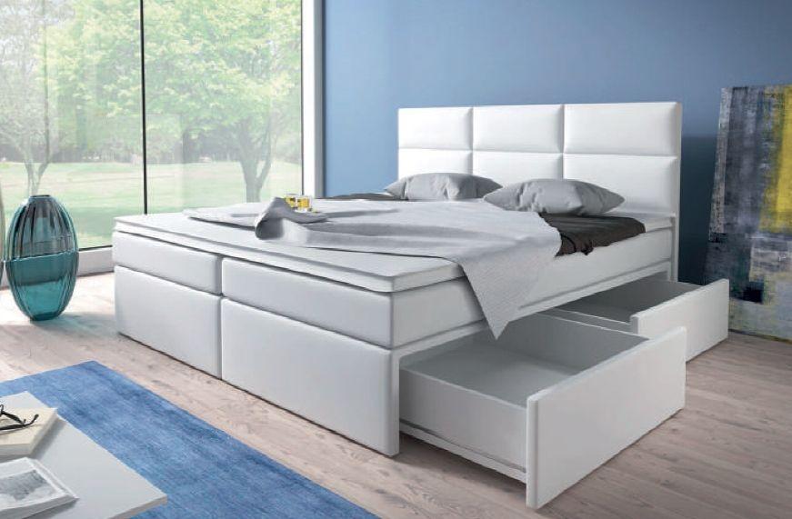 postel boxspring INTER TYP 3 - 160x200cm - bez úložného prostoru KAROL MEBLE