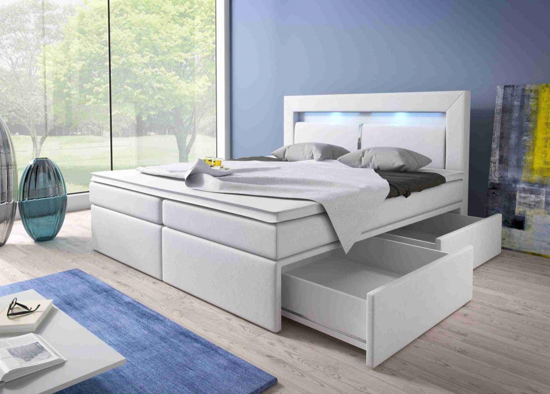 postel boxspring MILANO I - TYP 3 - úlož. prostor - 2 zásuvky KAROL MEBLE
