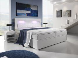 postel boxspring MILANO III - TYP 1 - úlož. prostor - 2+2 zásuvky