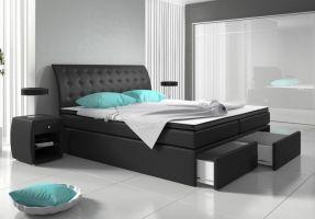 postel boxspring ROXI - TYP 3 - bez úložného prostoru