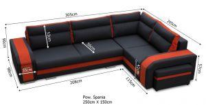 sedací souprava ASSAN – Soft 17 / Soft 30 KINAS