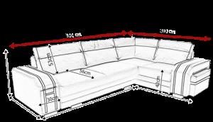 sedací souprava AVATAR – Inari 100 / Soft 17 KINAS
