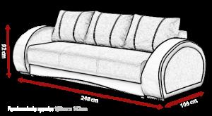 pohovka CHER – Inari 91 / Soft 17 KINAS