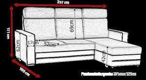 sedací souprava MAXX – Inari 96 / Soft černý KINAS