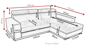 sedací souprava MEXICO DE LUX – Inari 27 / Soft 23 KINAS