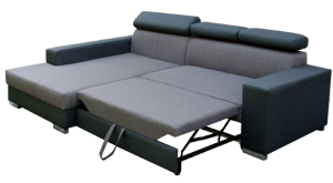 sedací souprava MEXICO DE LUX – Inari 87 / Soft černý KINAS
