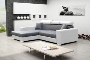 sedací souprava MEXICO DE LUX – Inari 91 / Soft bílý