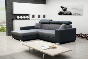 sedací souprava MEXICO DE LUX – Inari 91 / Soft černý