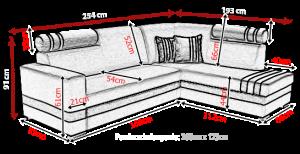 sedací souprava R1 – Inari 27 / Inari 23 KINAS