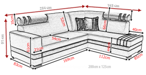 sedací souprava R1 – Inari 91 / Soft 11 KINAS