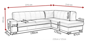 sedací souprava SENATOR – Vienna 08 KINAS