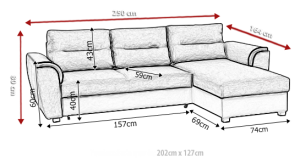 sedací souprava TOMEK – HC 51 / Soft 29 KINAS