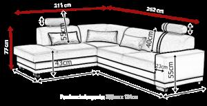 sedací souprava VERATTI – Inari 100 KINAS