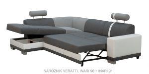 sedací souprava VERATTI – Inari 27/ Inari 23 / Soft 66 KINAS