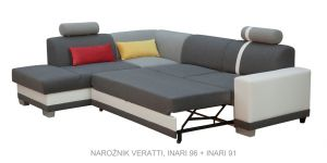 sedací souprava VERATTI – Soft 29 / Inari 100 / Inari 87 KINAS