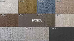 sk:4 - PATICA  - rohová sedací souprava BAVERO - potahový materiál cenová skupina IV