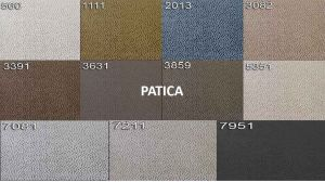 sk:4 - PATICA  - taburet BAVERO - potahový materiál cenová skupina IV
