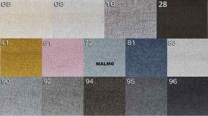 sk.1 - MALMO  - rohová sedací souprava MATEO - potahový materiál cenová skupina I