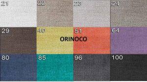 sk.1 - ORINOCO  - rohová sedací souprava MATEO - potahový materiál cenová skupina I