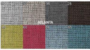 sk.2 - ATLANTA  - rohová sedací souprava SALERNO  - potahový materiál cenová skupina II