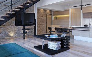 konferenční stolek MESSA - černý mat