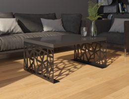 konferenční stolek SEMANIER - černý lesk