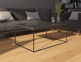 konferenční stolek WERTIKO - černý lesk