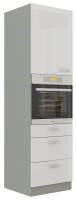 kuchyňská linka BIANKA - 60 na troubu (60 DPS-210 3S 1F) LEMPERT