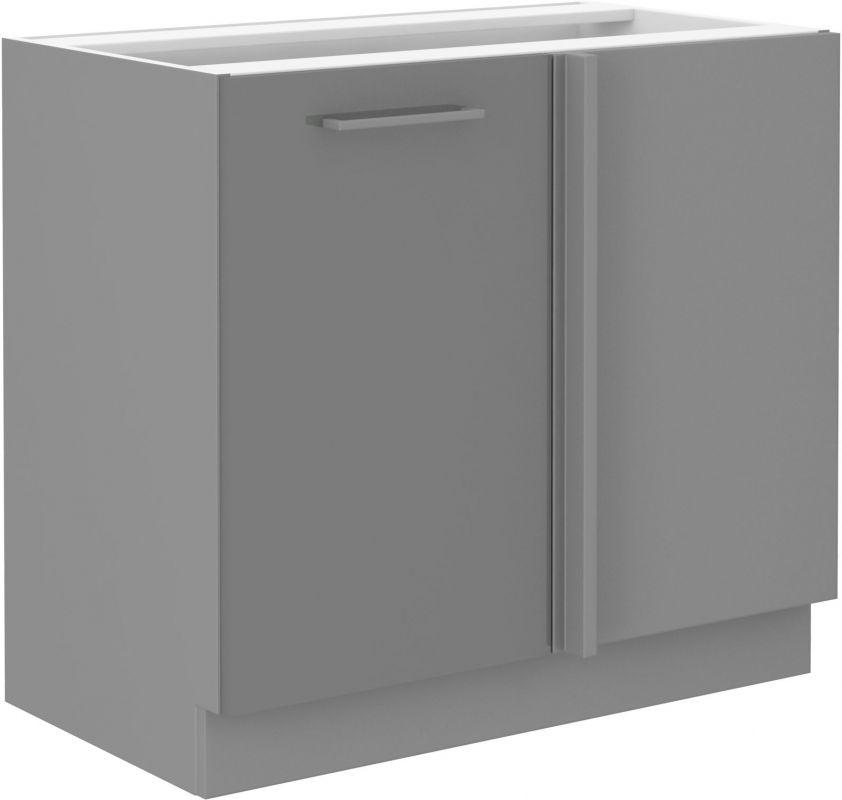 kuchyňská linka GREY - 105 dolní rohová (105 ND 1F) LEMPERT