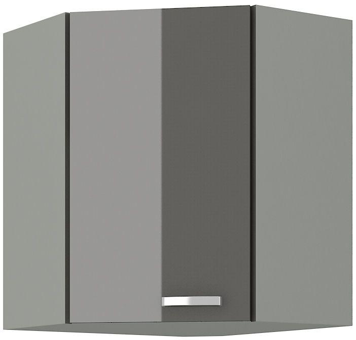 kuchyňská linka GREY - 58/58 horní roh (58x58 GN-72 1F) LEMPERT