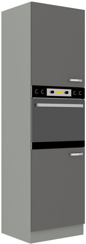 kuchyňská linka GREY - 60 na troubu (60 DP-210 2F) LEMPERT
