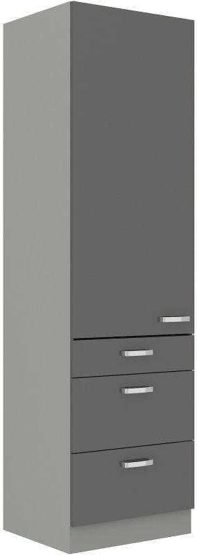kuchyňská linka GREY - 60 potravinová skříň (60 DKS-210 3S1F) LEMPERT