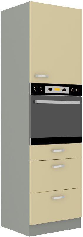 kuchyňská linka KARMEN - 60 na troubu (60 DPS-210 3S 1F) LEMPERT