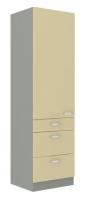 kuchyňská linka KARMEN - 60 potravinová skříň (60 DKS-210 3S 1F)