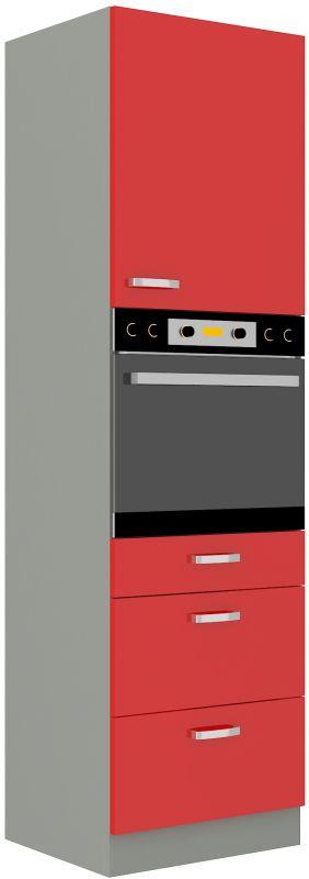 kuchyňská linka ROSE - 60 na troubu (60 DPS-210 3S 1F) LEMPERT