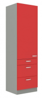 kuchyňská linka ROSE - 60 potravinová skříň (60 DKS-210 3S 1F)