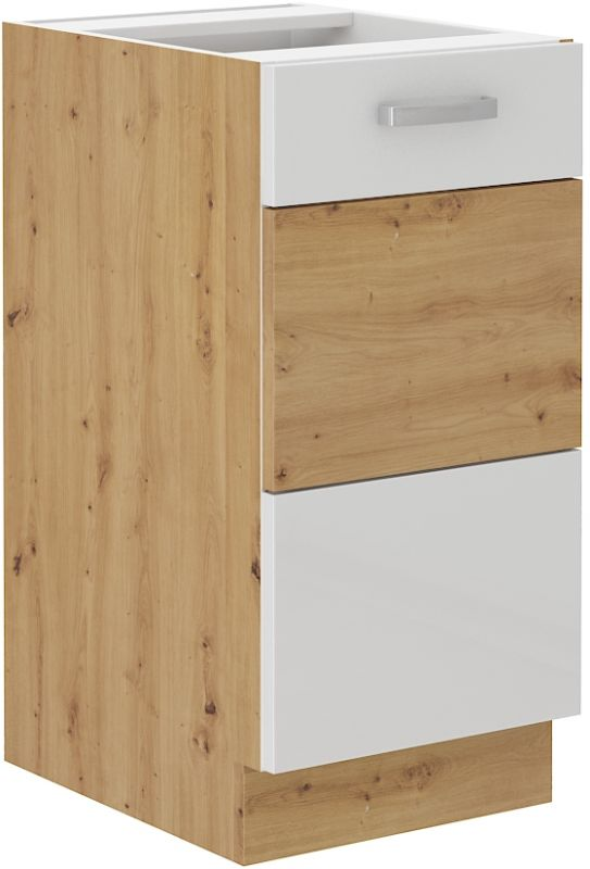 kuchyňská linka ARTISAN BÍLÝ HG - 40 dolní (40 D 1F) LEMPERT