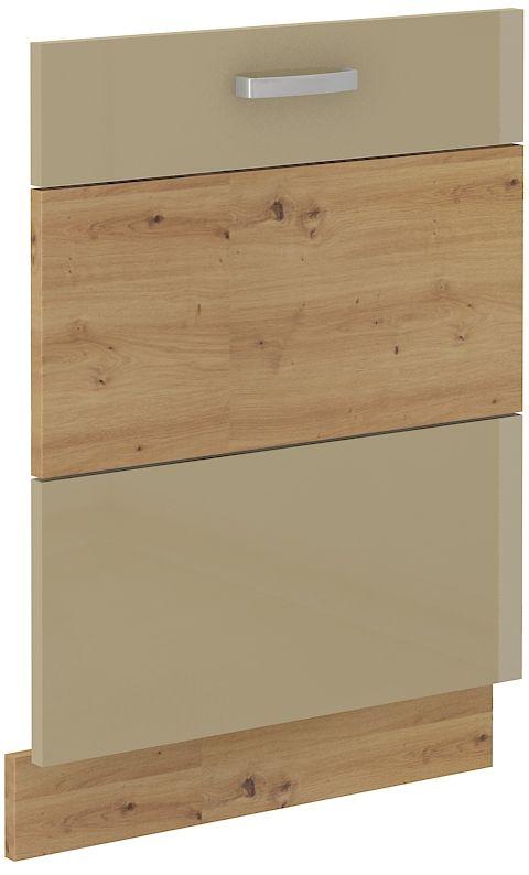 kuchyňská linka ARTISAN CAPPUCINO HG - dvířka na myčku (ZM 713x596) LEMPERT