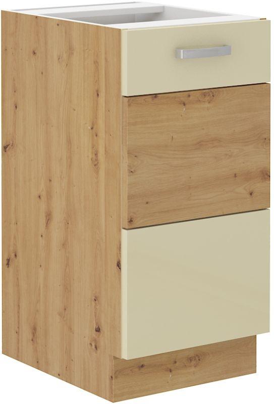 kuchyňská linka ARTISAN KRÉMOVÝ HG - 40 dolní (40 D 1F) LEMPERT