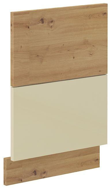 kuchyňská linka ARTISAN KRÉMOVÝ HG - dvířka na myčku (ZM 570x446) LEMPERT