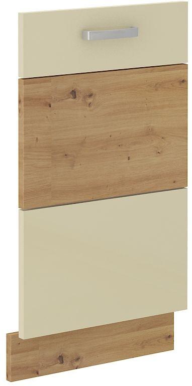 kuchyňská linka ARTISAN KRÉMOVÝ HG - dvířka na myčku (ZM 713x446) LEMPERT