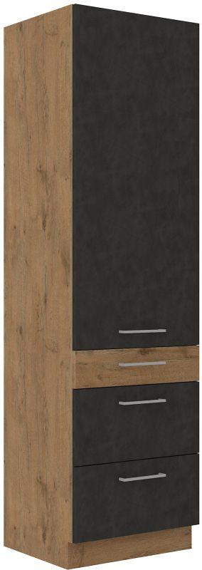 kuchyňská linka VIGO MATERA - 60 potravinová skříň (60 DKS-210 3S 1F) LEMPERT